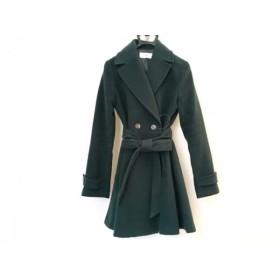 【中古】 スライ SLY コート サイズ2 M レディース ダークグリーン 冬物