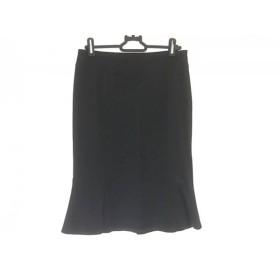【中古】 マテリア MATERIA スカート サイズ38 M レディース 美品 黒