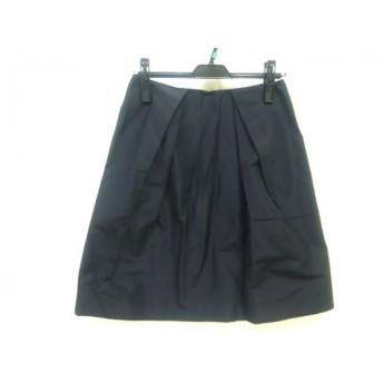 【中古】 デザインワークス DESIGNWORKS スカート サイズ40 M レディース 黒