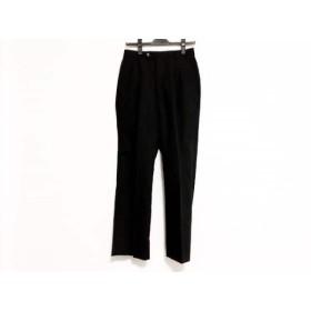 【中古】 カルバンクライン CalvinKlein パンツ サイズ29 XL レディース ダークグレー 毛ポリエステル