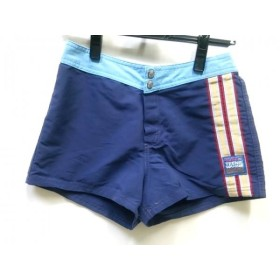 【中古】 ロキシー Roxy ショートパンツ サイズ14 XL レディース ブルー マルチ