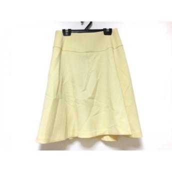 【中古】 フレイアイディー FRAY I.D スカート サイズ1 S レディース 美品 イエロー