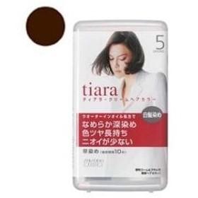ティアラ クリームヘアカラー 5 自然な栗色 資生堂 TICヘアC5 返品種別A