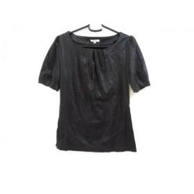 【中古】 トゥービーシック TO BE CHIC 半袖カットソー サイズ2 M レディース 黒