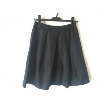 【中古】 マルティニーク martinique スカート サイズ1 S レディース 黒