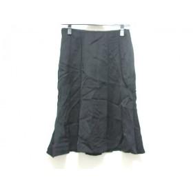 【中古】 エストネーション ESTNATION スカート サイズ36 S レディース 黒