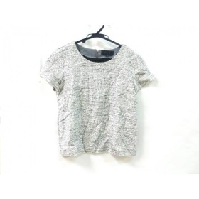 【中古】 アンタイトル UNTITLED 半袖カットソー サイズ2 M レディース ホワイト ブラック