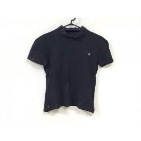 【中古】 マドモアゼルノンノン Mademoiselle NON NON 半袖Tシャツ サイズL レディース 黒