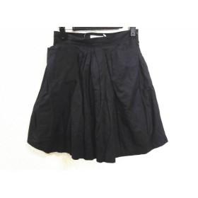 【中古】 シーバイクロエ SEE BY CHLOE スカート サイズI38 レディース 黒