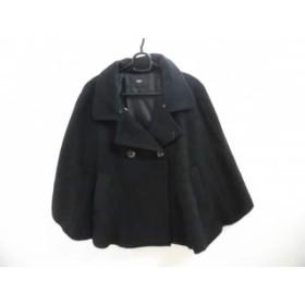 【中古】 ニコル NICOLE ポンチョ サイズ38 M レディース 黒