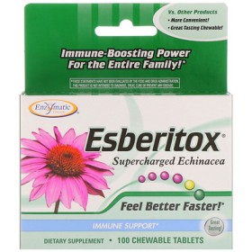 Esberitox, Supercharged Echinacea, Immune Support, 100 Chewable Tablets