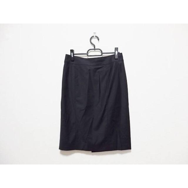 【中古】 バーバリーロンドン Burberry LONDON スカート サイズ40 L レディース 美品 黒