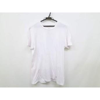 【中古】 ポロラルフローレン POLObyRalphLauren 半袖Tシャツ サイズM/M/M メンズ アイボリー