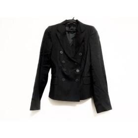 【中古】 コントワーデコトニエ ジャケット サイズ36 S レディース 美品 ダークグレー グレー ストライプ