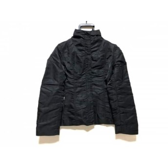 【中古】 ニジュウサンク 23区 ダウンジャケット サイズ1 S レディース 黒 冬物
