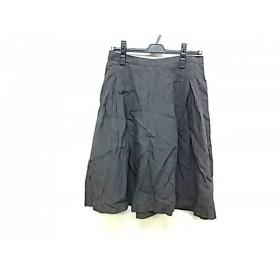 【中古】 マーガレットハウエル MargaretHowell スカート サイズ2 M レディース グレー
