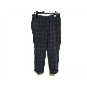 【中古】 インコテックス INCOTEX パンツ サイズ26 S レディース ダークグレー グレー チェック柄
