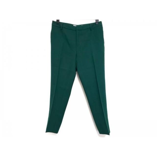 【中古】 ルシェルブルー LE CIEL BLEU パンツ サイズ38 M レディース グリーン