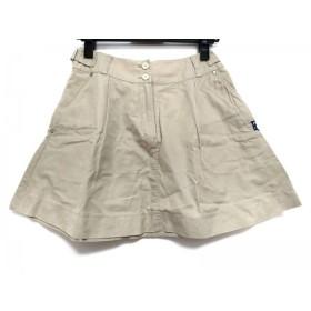 【中古】 パーリーゲイツ PEARLY GATES ミニスカート サイズ0 XS レディース ベージュ