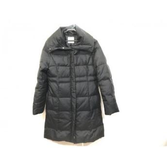 【中古】 スピック&スパン Spick & Span ダウンコート サイズ40 M レディース 黒 冬物