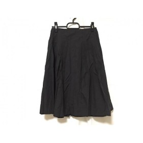 【中古】 アマカ AMACA スカート サイズ36 S レディース 黒