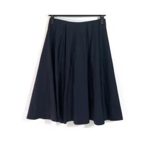 【中古】 ジユウク 自由区/jiyuku スカート サイズ38 M レディース ダークネイビー