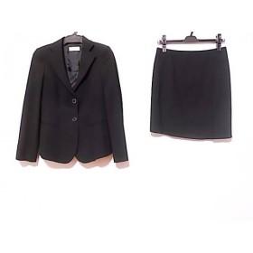 【中古】 エンポリオアルマーニ EMPORIOARMANI スカートスーツ サイズ36 S レディース 黒
