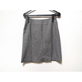 【中古】 ナチュラルビューティー ベーシック スカート サイズM レディース 美品 黒 白