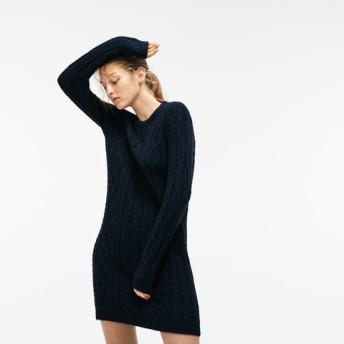 アルパカ混ワンピースセーター