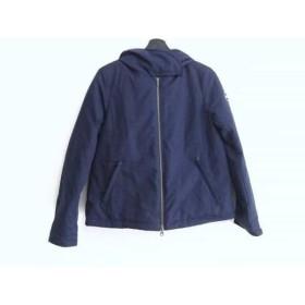 【中古】 コルマー COLMAR ダウンジャケット サイズ40 M レディース ネイビー 冬物
