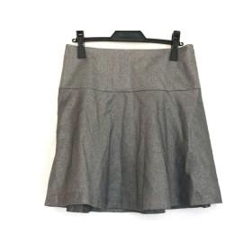 【中古】 アドーア ADORE スカート サイズ36 S レディース グレー ラメ