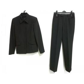 【中古】 アナイ ANAYI レディースパンツスーツ サイズ36 S レディース 黒 肩パッド