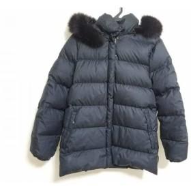 【中古】 モンクレール MONCLER ダウンジャケット サイズ00 XS レディース - 黒 冬物