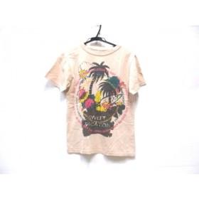 【中古】 ノーブランド 半袖Tシャツ サイズ9 M レディース ベージュ