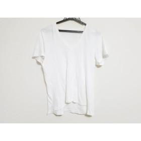 【中古】 オーラリー AURALEE 半袖Tシャツ サイズ1 S レディース 白