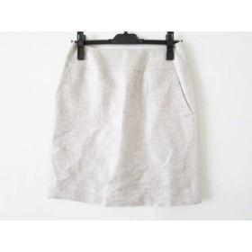 【中古】 トゥモローランド スカート サイズ36 S レディース アイボリー シルバー マルチ ラメ