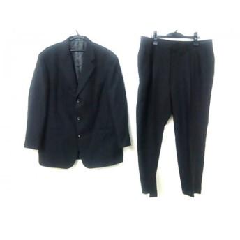 【中古】 ノーブランド シングルスーツ サイズ表記なし メンズ ブラック