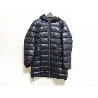 【中古】 ヘルノ HERNO ダウンコート サイズ42 M レディース 黒 冬物