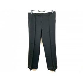 【中古】 ランバンコレクション LANVIN COLLECTION パンツ サイズ42 L レディース 黒