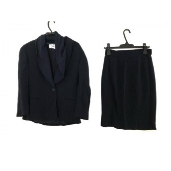 【中古】 ジェニー GENNY スカートスーツ サイズ42(I) M レディース ネイビー