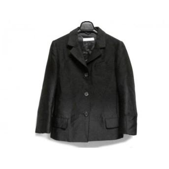【中古】 プラダ PRADA ジャケット サイズ38 S レディース 黒