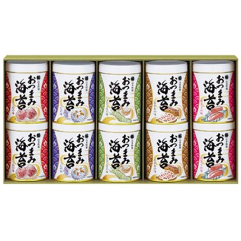 山本海苔店 おつまみ海苔10缶詰合せ