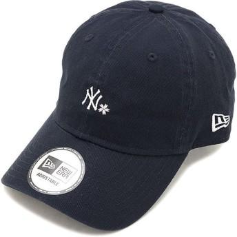 ニューエラ NEWERA 桜 ニューヨーク・ヤンキース 9THIRTY NY SAKURA キャップ 帽子 クロスストラップ NEW ERA NAVY ネイビー系 12018991 SS19