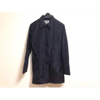 【中古】 ニジュウサンク 23区 コート サイズ38 M レディース 黒 春・秋物