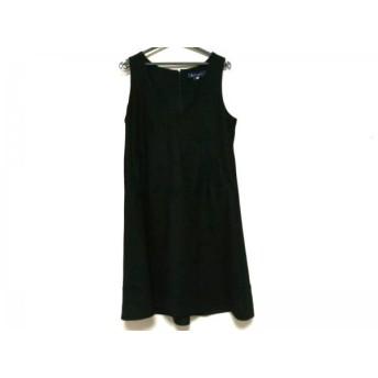 【中古】 エムズグレイシー M'S GRACY ワンピース サイズ40 M レディース 美品 黒