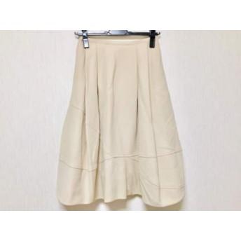 【中古】 フォクシー FOXEY ロングスカート サイズ40 M レディース ANMAE25-02 ベージュ