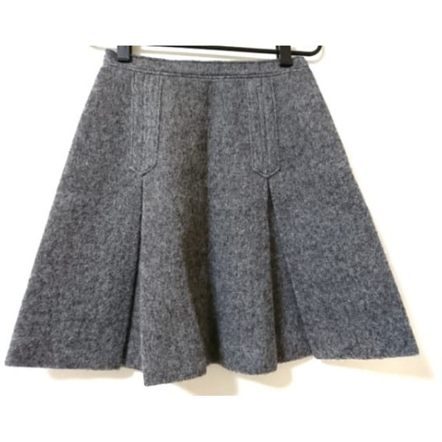 【中古】 ジャスグリッティー JUSGLITTY スカート サイズ2 M レディース 美品 ダークグレー