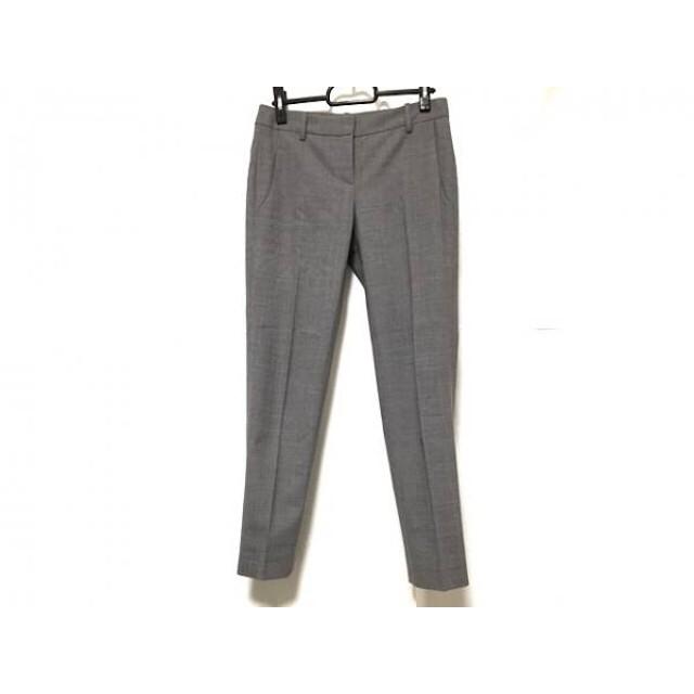 【中古】 セオリー theory パンツ サイズ0 XS レディース 美品 ライトグレー