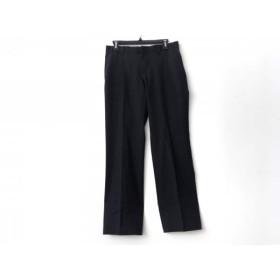 【中古】 グッチ GUCCI パンツ サイズ7-44R レディース 黒 グレー ストライプ