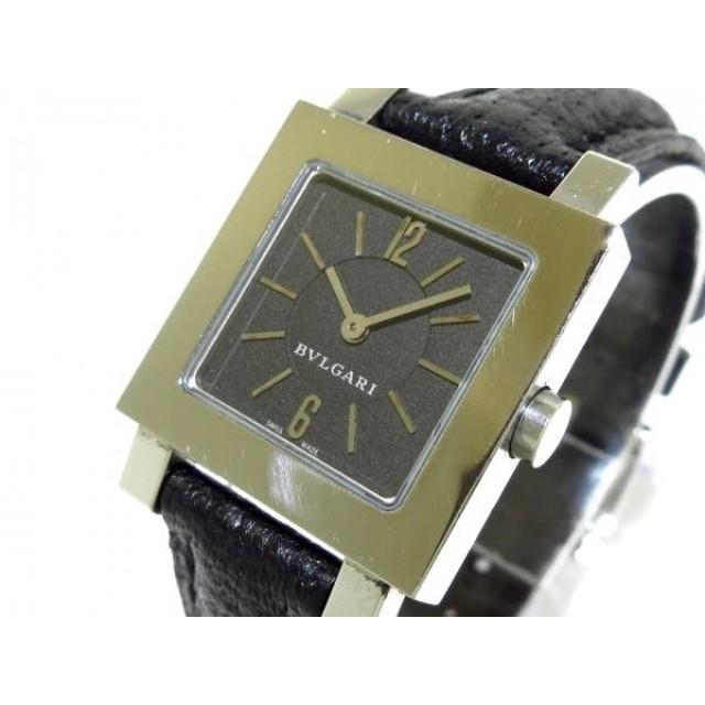 on sale 1fa9e 75e9d 中古】 ブルガリ BVLGARI 腕時計 クアドラード SQ22SL ...